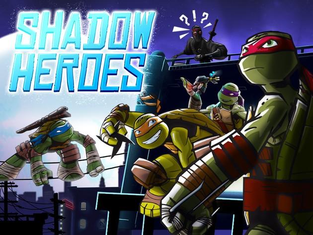 As Tartarugas Ninja: Heróis das Sombras