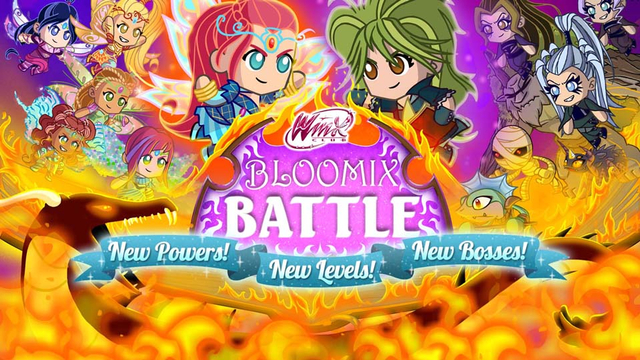 Bloomix Battle Free Games For Kids Nick Games