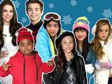 Moda d'inverno con le star di Nick