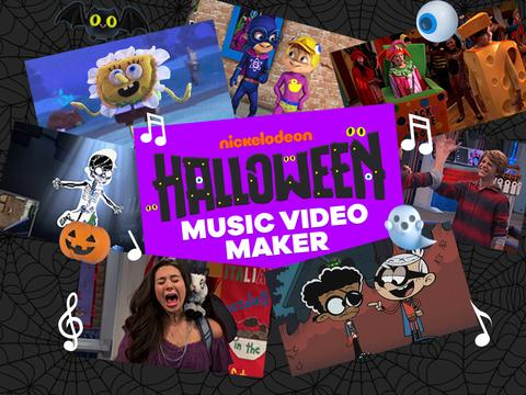 Nickelodeon: Halloween Music Video Maker