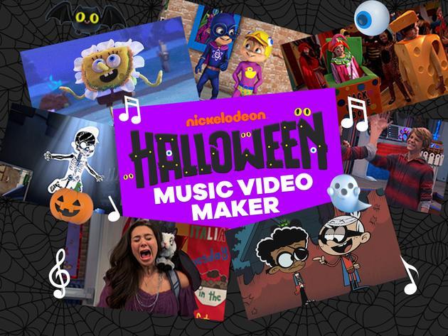 Nickelodeon: Halloween Music Video Maker