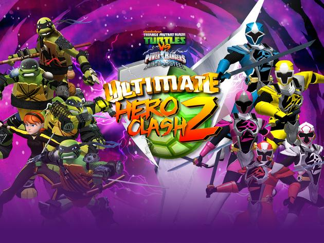 Teenage Mutant Ninja Turtles vs Power Rangers: Ultimate Hero Clash 2