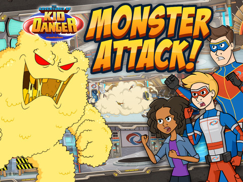 The Adventures of Kid Danger: Monster Attack!