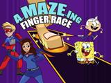 Nickelodeon: A-MAZE-ing Finger Race