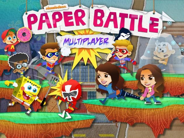 Nickelodeon: Paper Battle Multiplayer