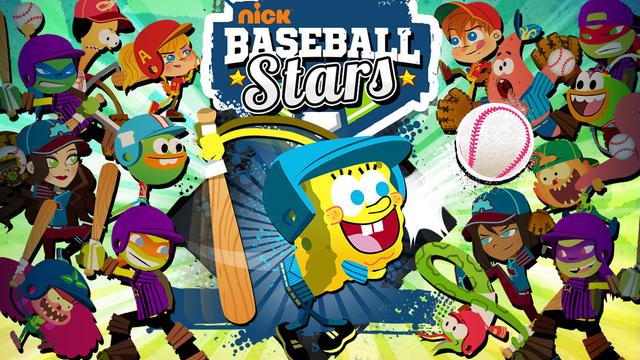 Nickelodeon Baseball Stars Sports Game