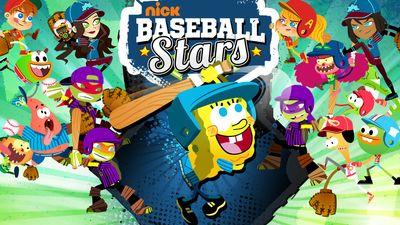 Nickelodeon Baseball Stars Sports Game Nickelodeon