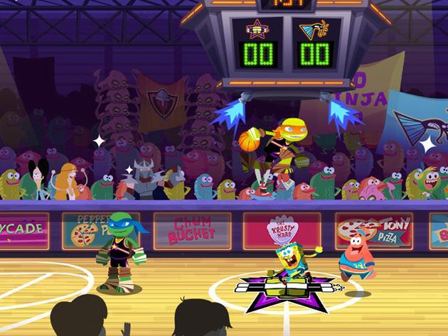 Nickelodeon Basketball Stars