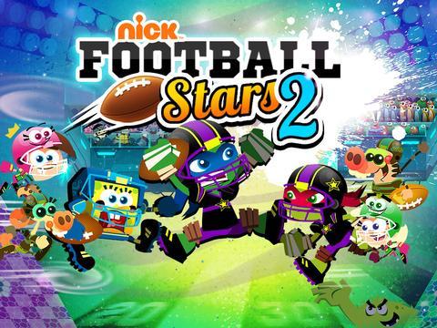 Nickelodeon Football Stars 2 Sports Game