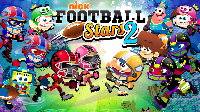 Nickelodeon Football Stars 2 Sports Game