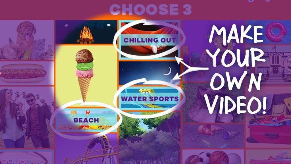 NickGamer: Summer Music Video Maker