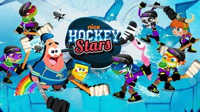 Nickelodeon Hockey Stars Sports Game Nickelodeon