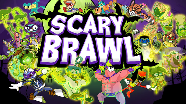 Nickelodeon Scary Brawl Action Game