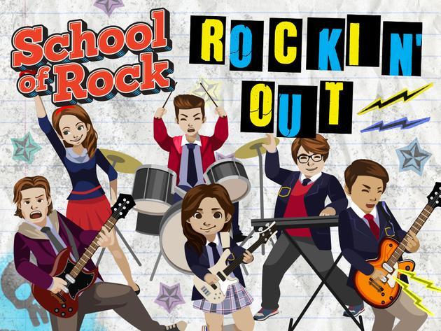 مدرسة الروك: روكين أوت