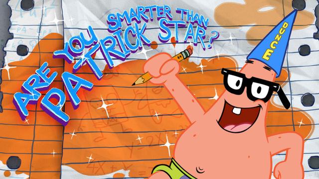 spongebob squarepants are you smarter than patrick star funny game