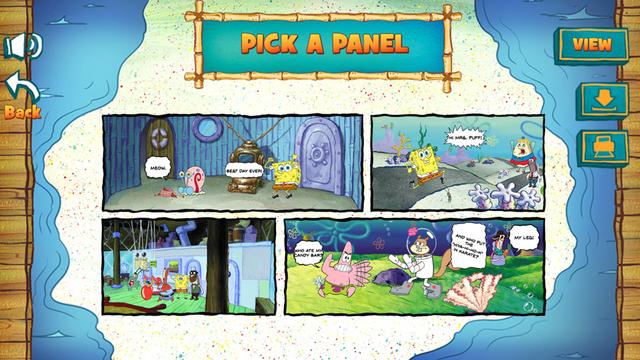SpongeBob SquarePants: Cartoon Creator Funny Game