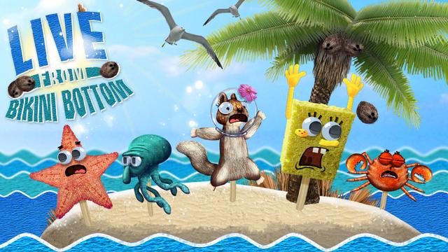 Think, sponge bob bikini bottom here