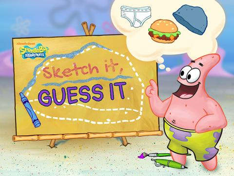 SpongeBob SquarePants: Sketch It, Guess It