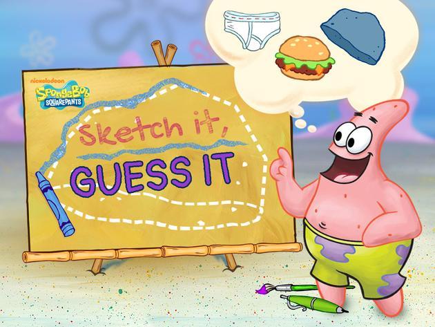 SpongeBob SquarePants: Sketch It, Guess It