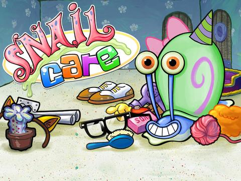 SpongeBob SquarePants: Snail Care