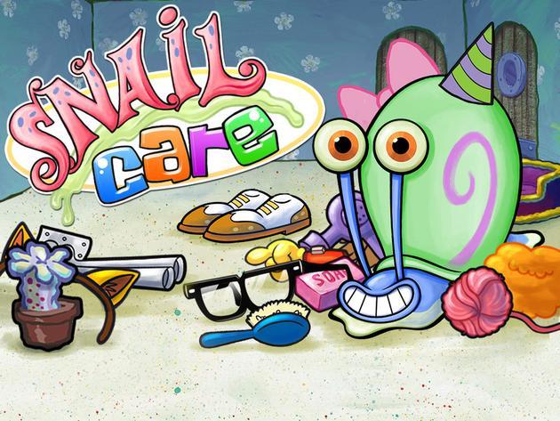 SpongeBob SquarePants: Snail Care