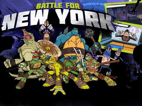 سلاحف النينجا معركة لأجل نيويورك
