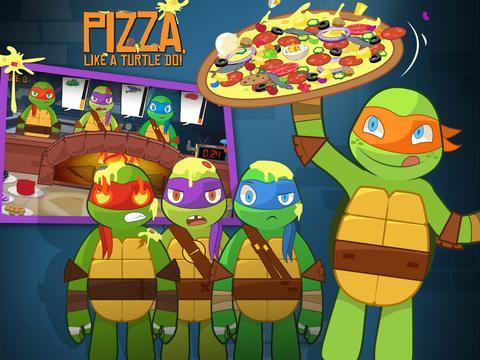 سلاحف النينجا: بيتزا السلاحف!