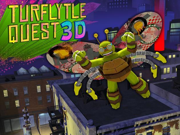 Teenage Mutant Ninja Turtles: TurFlytle Quest 3D