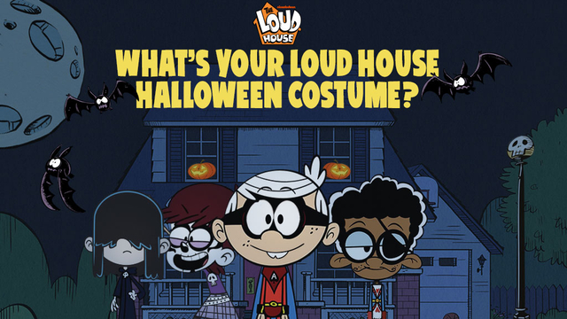 The loud house what 39 s your loud house halloween costume for Whats house music