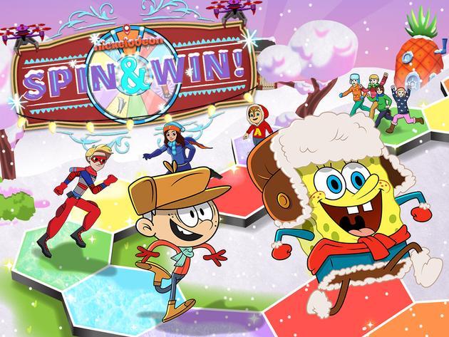 Nickelodeon: Winter Spin & Win