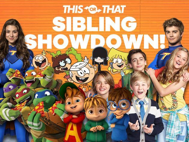 Nickelodeon: Sibling Showdown
