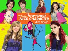 Nickelodeon: Which Throwback Character Are You?