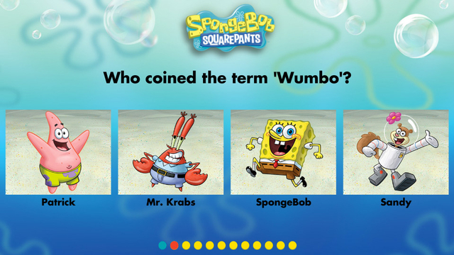 Nickelodeon Quizzes How Well Do You Know SpongeBob