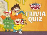 Welcome to the Wayne: Trivia Quiz