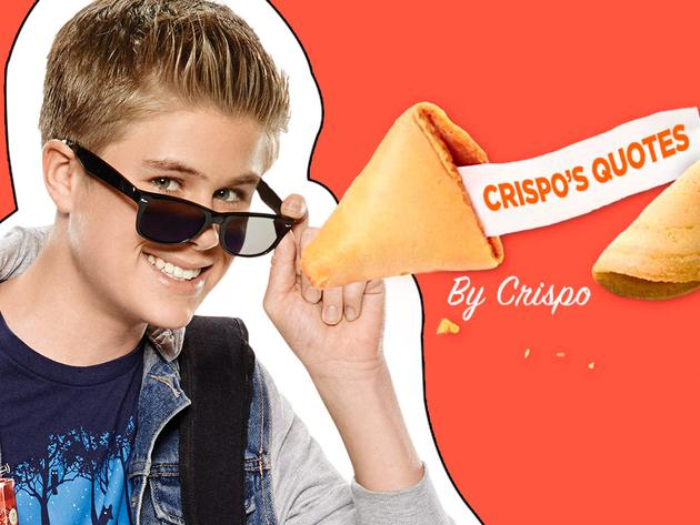 """100 Things To Do Before High School: """"Crispo's Quotes"""""""