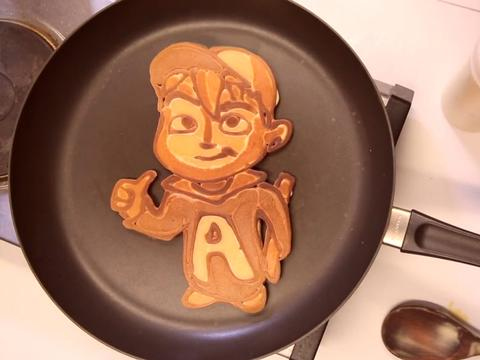 Il pancake di Alvin