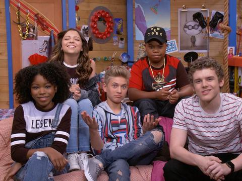 """""""Behind The Scenes of the Henry Danger Game and Shakers Crossover!"""""""