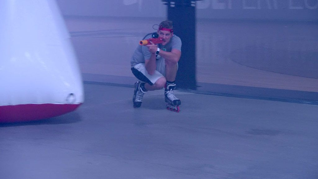 Roller Blade Laser Tag