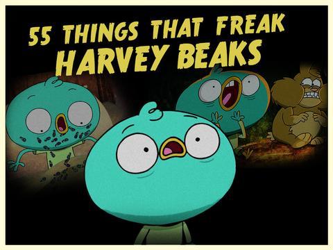 """Harvey Beaks: """"Harvey Freaks!"""""""