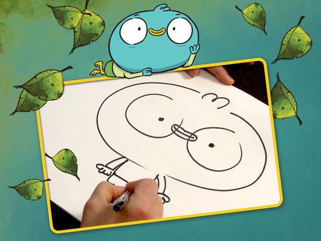 Learn to Draw Harvey Beaks!