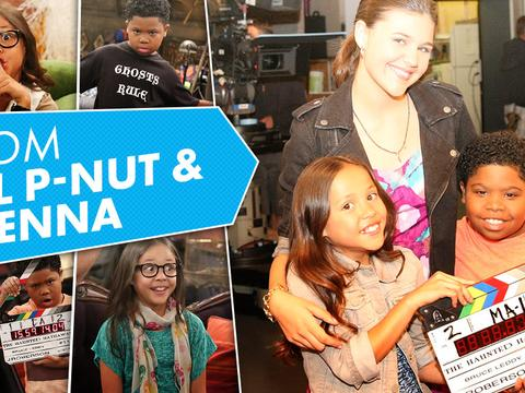 Haunted Hathaways: Lil P-nut and Breanna Dance Off!