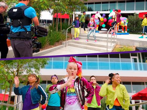 "JoJo Siwa: My World: ""On Set With JoJo"""