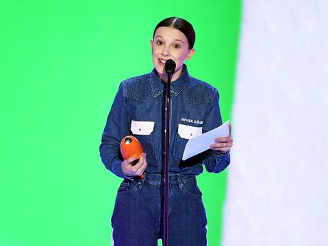 "Kids' Choice Awards 2018: ""Millie Bobby Brown Wins Favorite TV Actress"""
