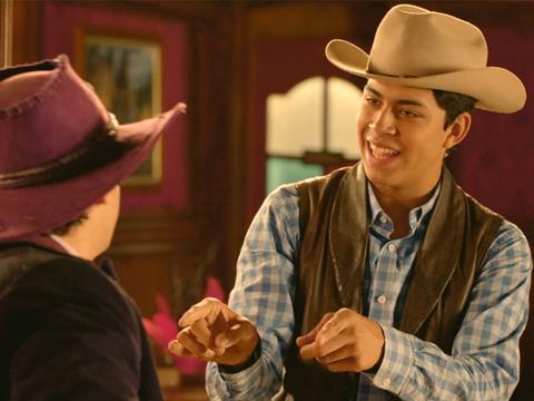 "Lost in the West: ""Purple Hat Man"""