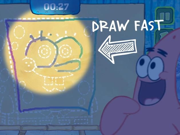 "REWIND: SpongeBob SquarePants: ""NickGamer: Sketch It, Guess It"""