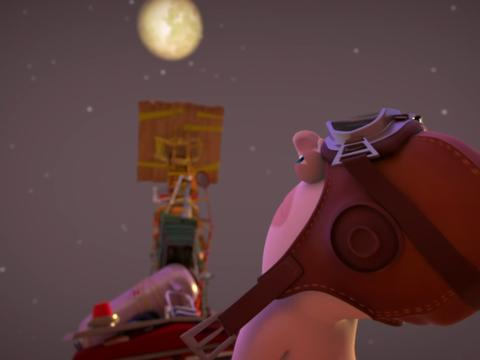 "Rabbids Invasion: ""To the Moon"""