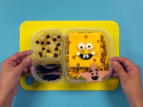 Make Your Own SpongeBob Bento Box