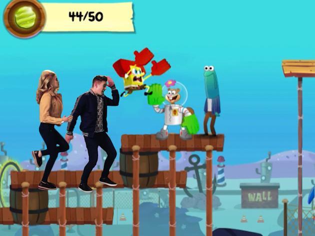 """Gamer Challenge: SpongeBob Run"""