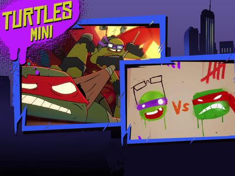 "Teenage Mutant Ninja Turtles: ""Don vs Raph"""