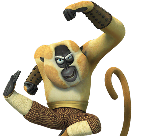 Monkey from kung fu panda legends of awesomeness - Singe kung fu panda ...
